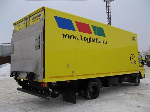 доставка товара автотранспортом